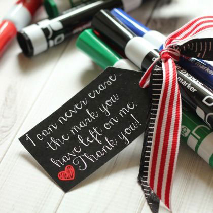 20 cute, easy, cheap & practical teacher appreciation gift ideas