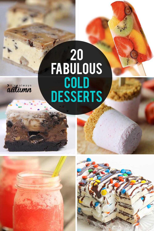 20 fabulous cold desserts