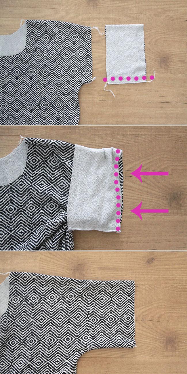 easy-tee-cuffed-sleeve-how-to-sew-womens