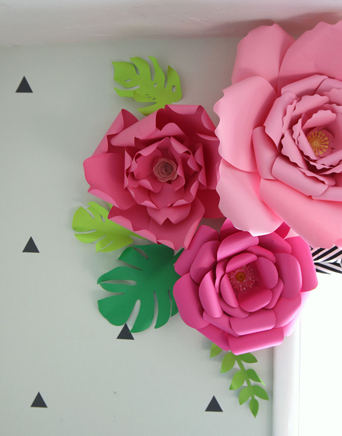 How to make giant paper flowers.