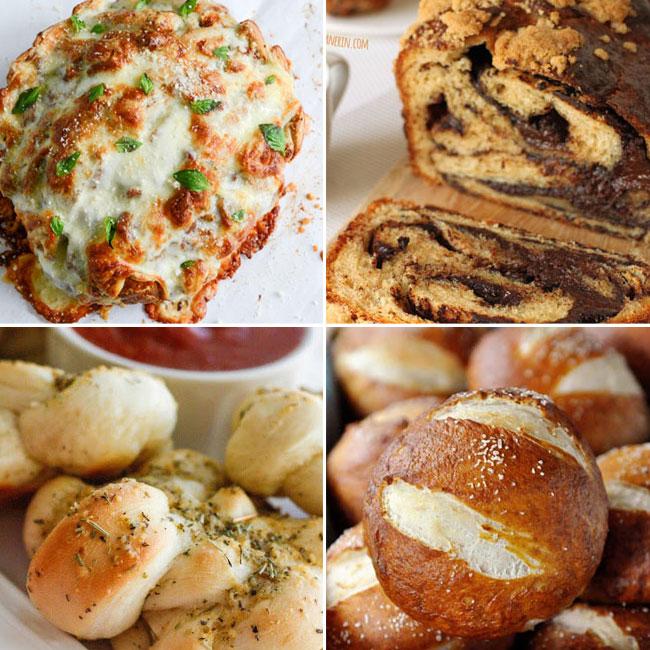 20 delicious bread recipes