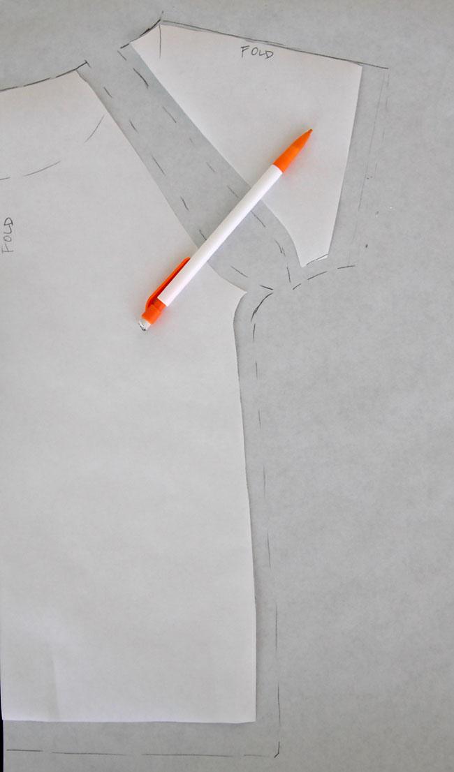 Raglan t-shirt pattern