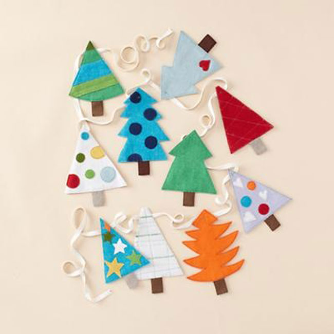 felt-christmas-tree-garland-easy-diy