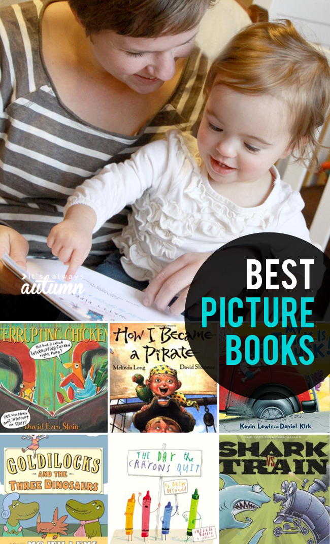 This is a list of funny, clever, and fun-to-read picture books.