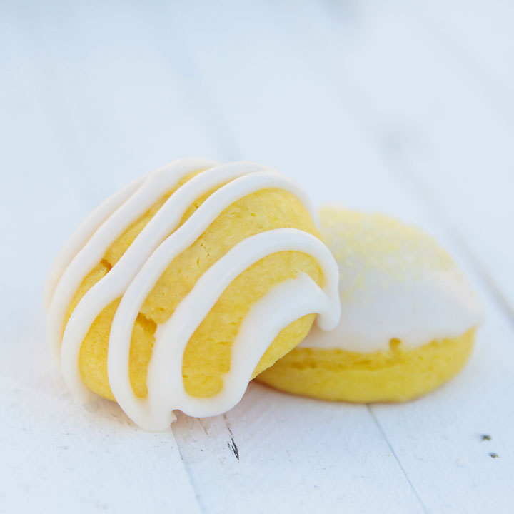 these crazy delicious lemon cookies only take a few minutes to make since they start with a cake mix