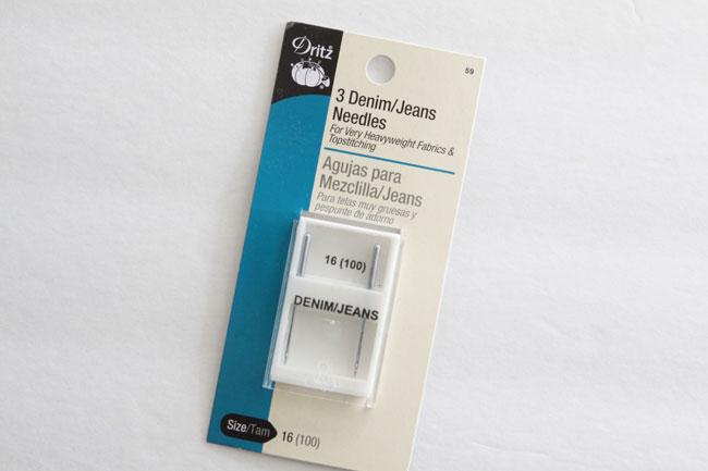 denim needles package