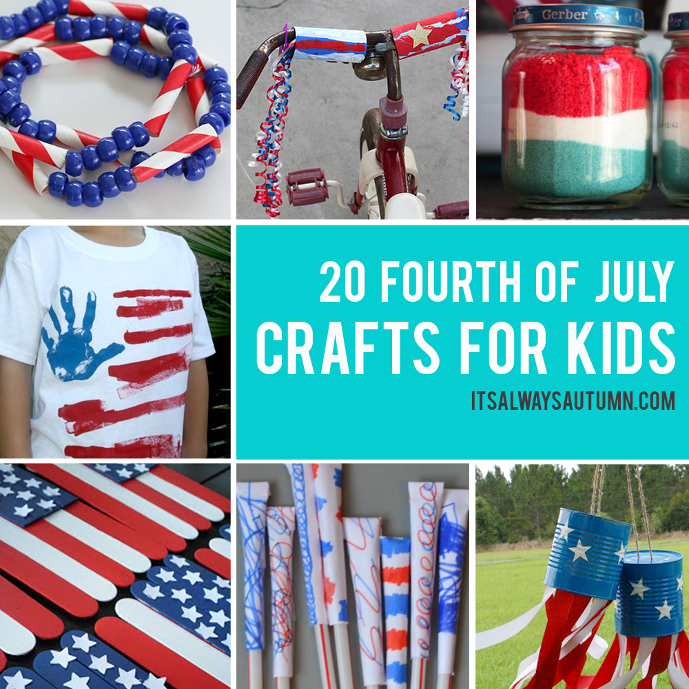 20 fun 4th of July crafts for kids