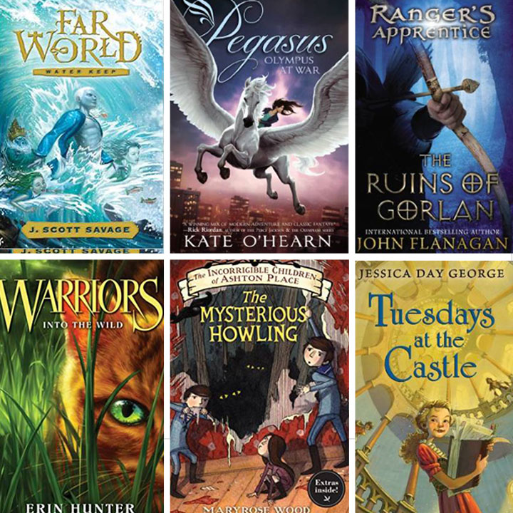 30 incredible book series for kids ages 8-12