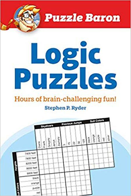 Logic puzzles book