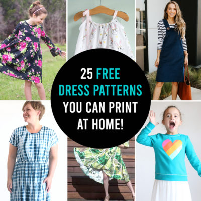 How to make a dress: 25 free dress patterns for girls + women