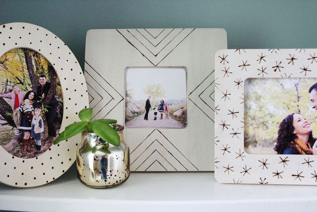 DIY photo frames & displays - great ideas!