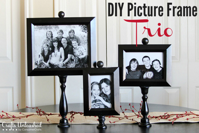 DIY photo frames & displays - great ideas!