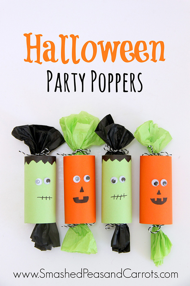 20 best DIY Halloween treat bag, boxes, cups, and more. Perfect favors for class parties, neighborhood kids, and more.