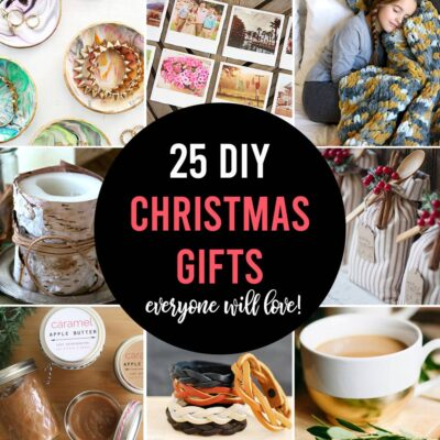 25 amazing DIY Christmas gifts people will actually want!