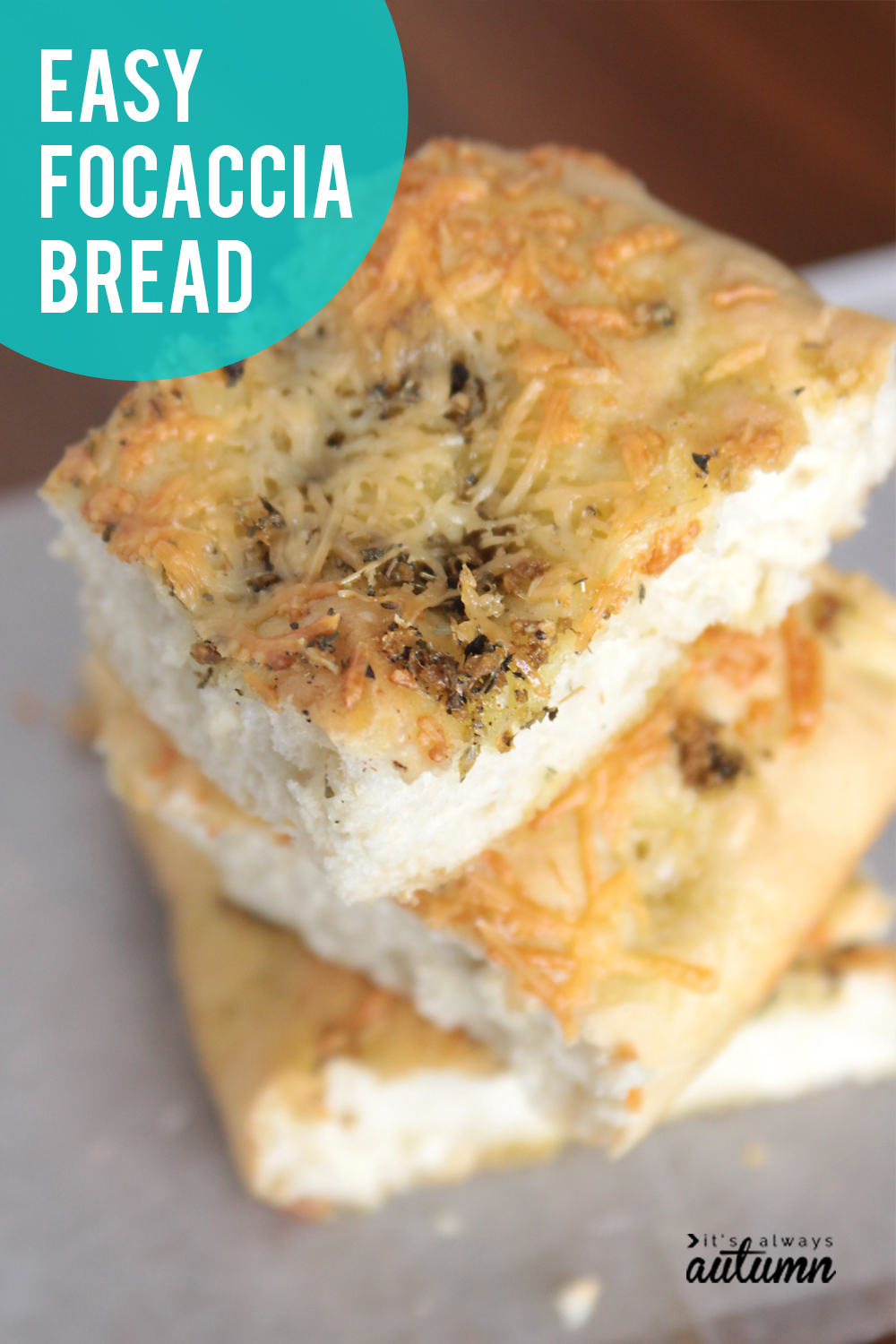 This is the easiest focaccia recipe ever! Start with frozen bread dough for amazing focaccia bread in no time.