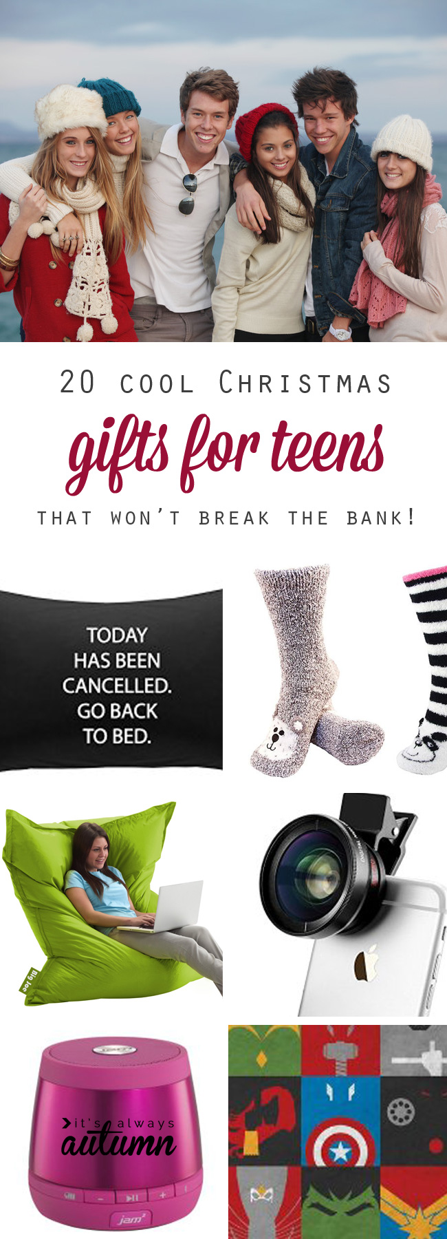 Download Christmas Ideas For Teens