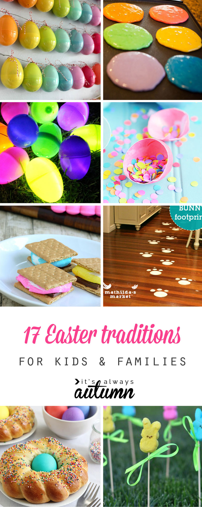 17 fun Easter traditions to start with your family this year! Some are Christ-based for the true meaning of Easter and others are just for fun