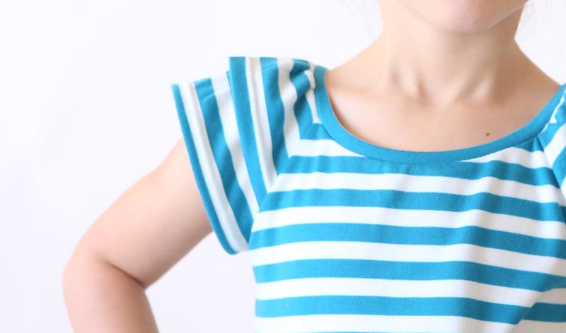 Closeup of a sleeve