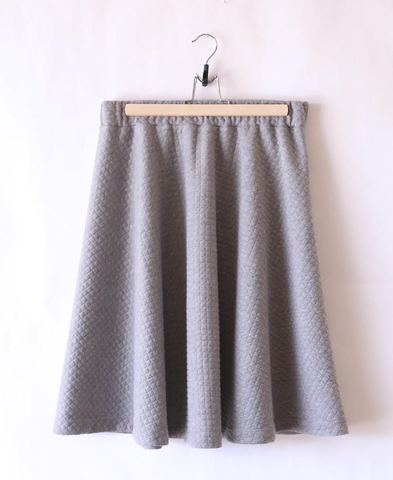 Half circle skirt on a hanger