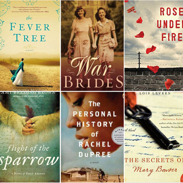collage of book covers for historical romance novels