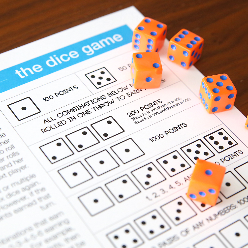 The Dice Game | fun & easy game for kids and adults