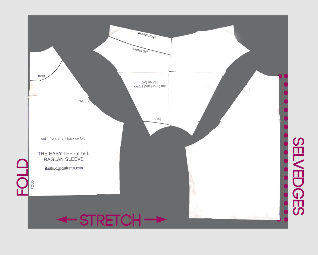 Pattern layout diagram