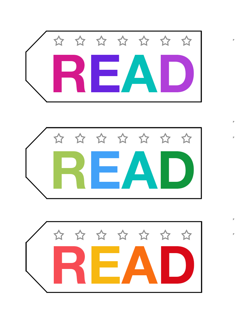 Bookmark printable