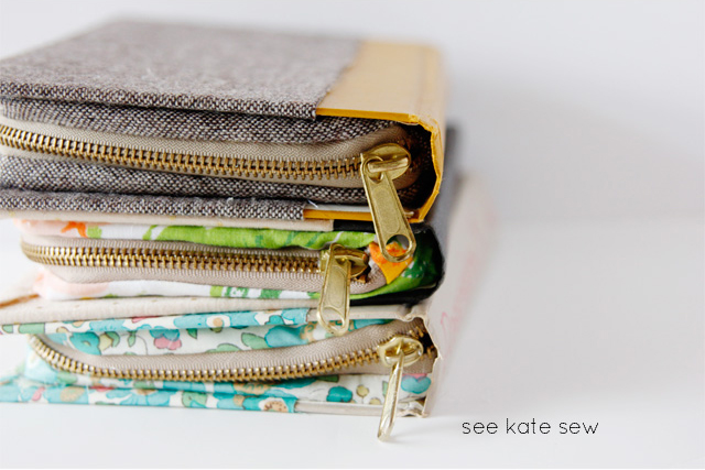 Cheap DIY gift idea: zippered purse made from a hardback book