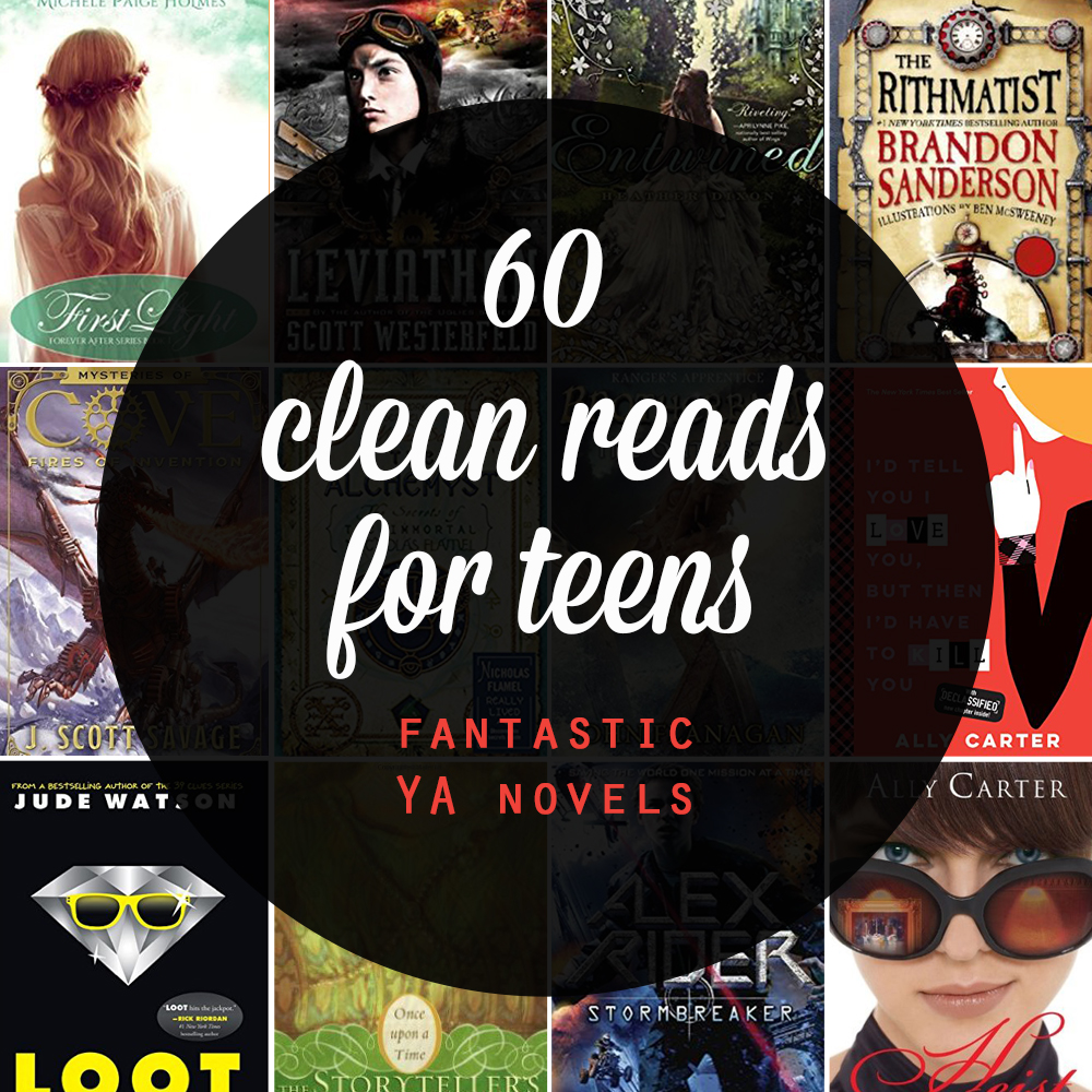 clean young adult books & series for your teens