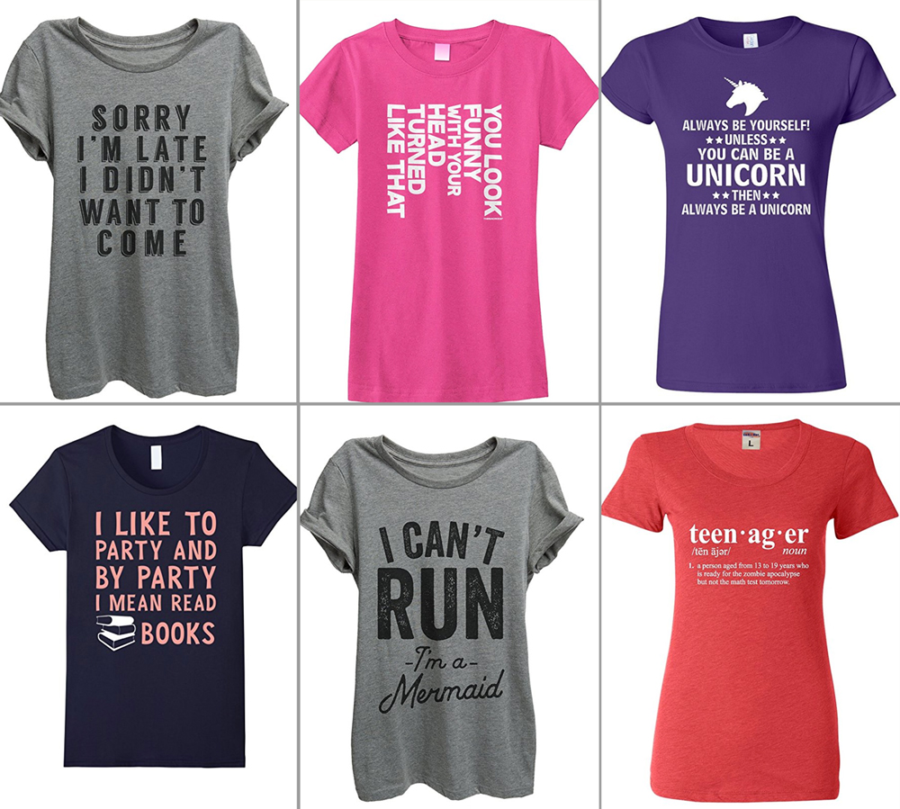 funny t-shirts for women