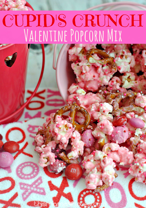 Easy and fun Valentine's Day treats to make with your kids. Easy recipes perfect for a Valentine's party.