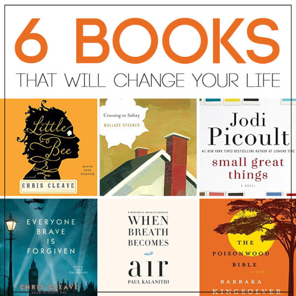 amazing list of books that will change the way you think about the world! novels, memoirs. great ideas for what to read next.