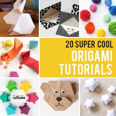 20 cool origami tutorials kids and adults will love!