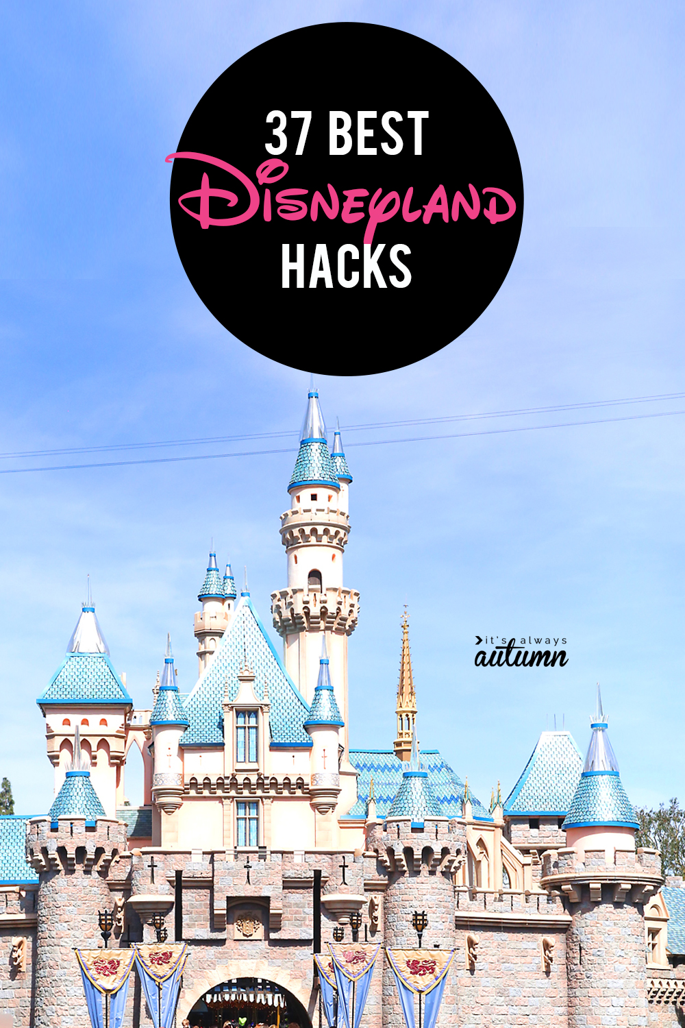 37 smart Disneyland hacks so you can plan your best trip yet! Disney tips and tricks.