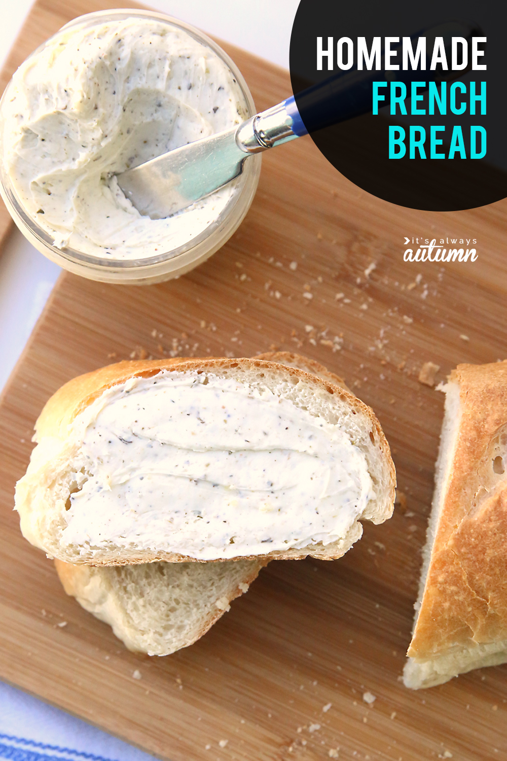 How to make homemade french bread! Click through for an easy french bread recipe you can make at home.
