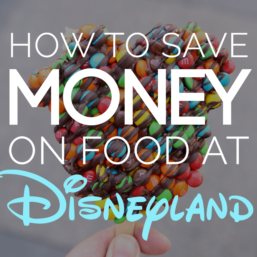 Great hacks for saving food on money at Disneyland! 15 best tips for eating cheap at Disney.