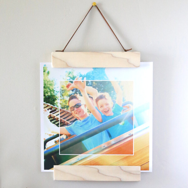 Hanging Photo Frame and photo