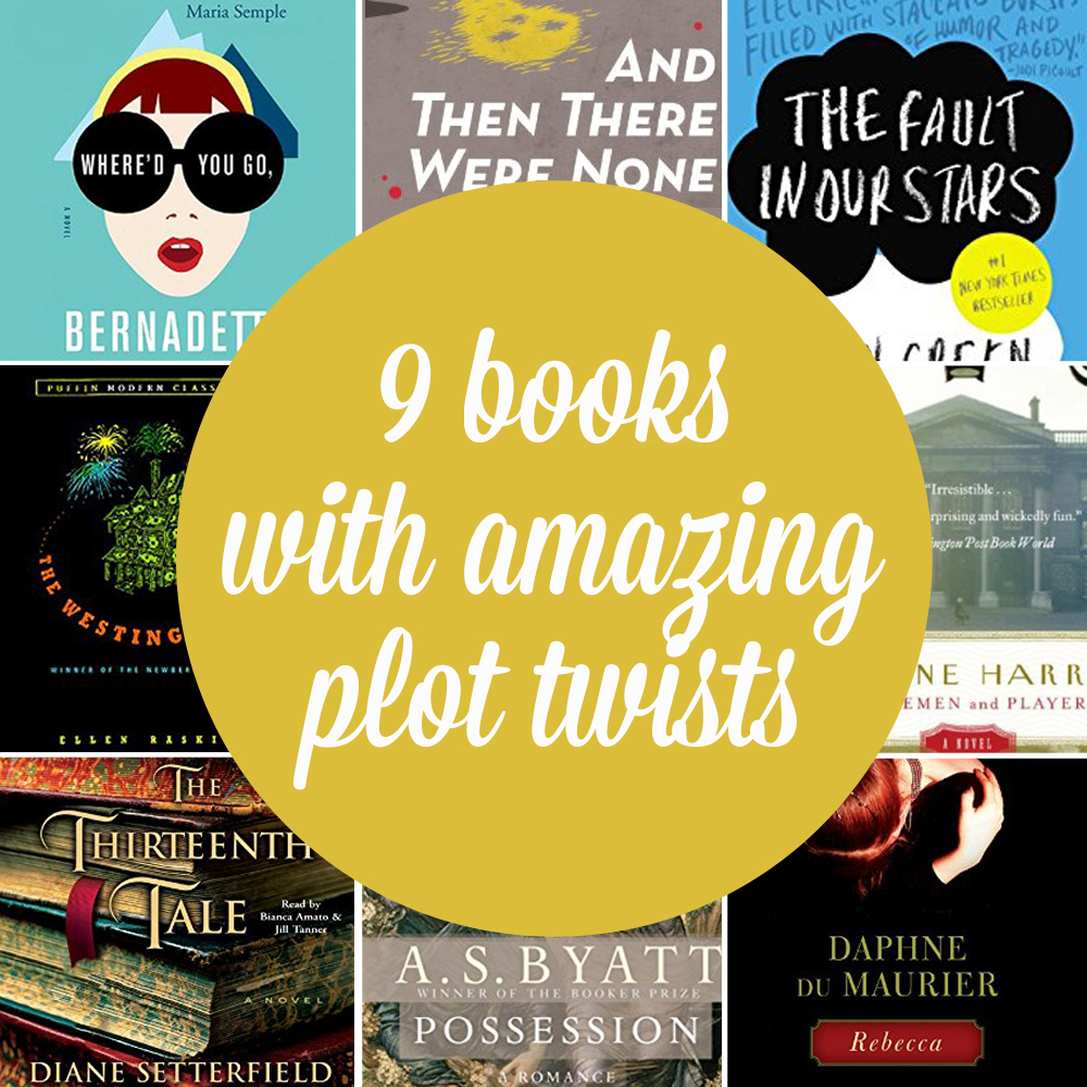9 books with an incredible plot twist