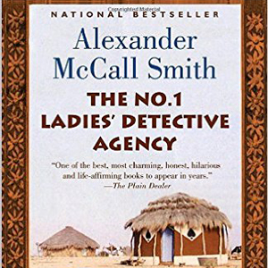 The No 1 Ladies\' Detective Agency book cover, with African hut