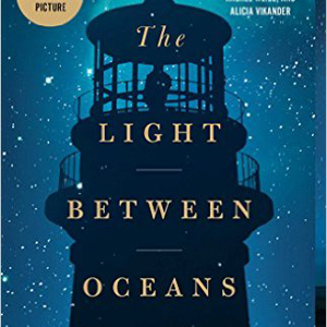 The Light Between Oceans book cover, with lighthouse