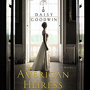 American Heiress book cover, with woman looking out a window