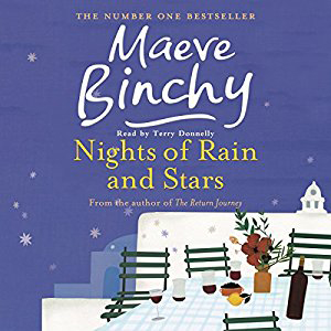 Nights of Rain and Stars book cover, with table and chairs