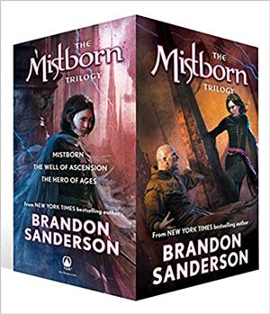 Mistborn book series by Brandon Sanderson