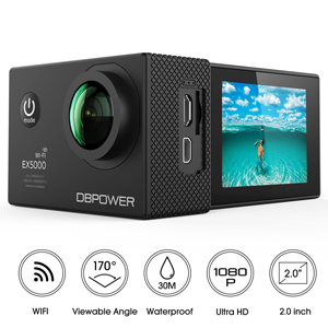 gift idea for boys: waterproof camera
