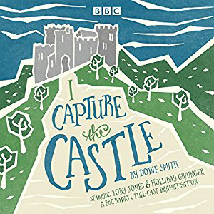 I Capture the Castle book cover, drawing of a castle