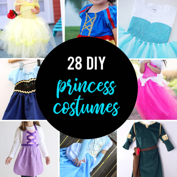 28 DIY princess costume tutorials - all the best instructions for how to make your own princess costume