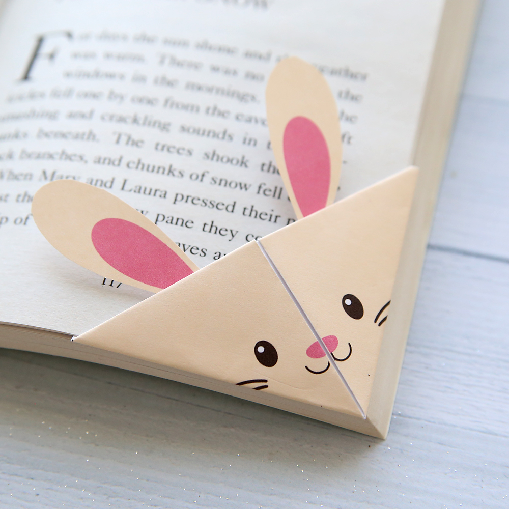 DIY woodland animals origami bookmarks {print + fold}