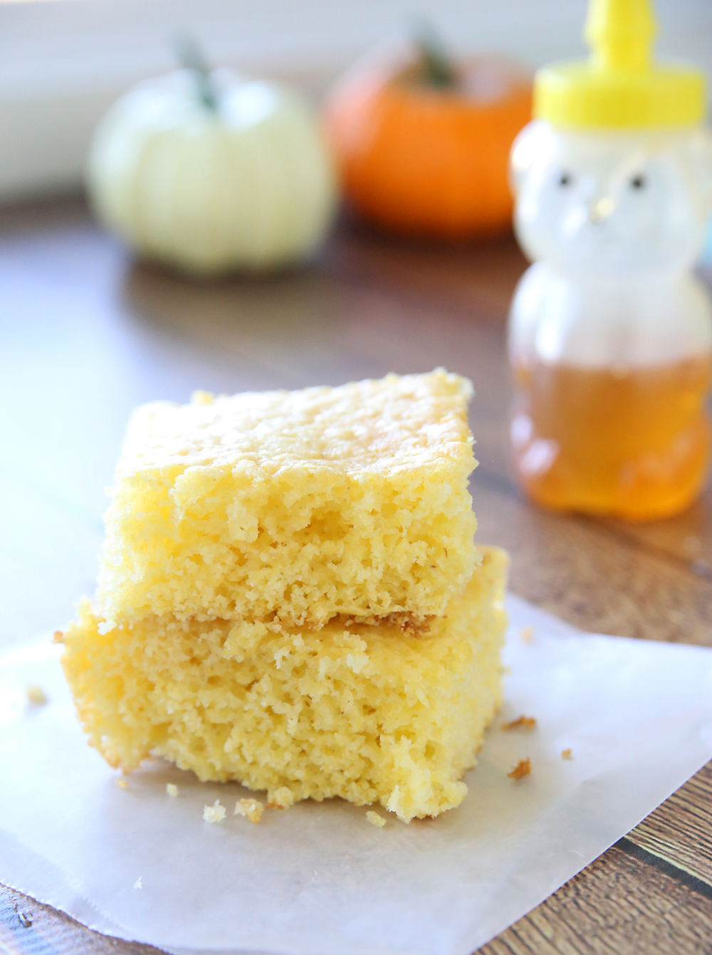 Moist, sweet cornbread just like Grandma used to make! This easy Jiffy cornbread recipe uses a cornbread mix + a yellow cake mix for the best easy cornbread ever!