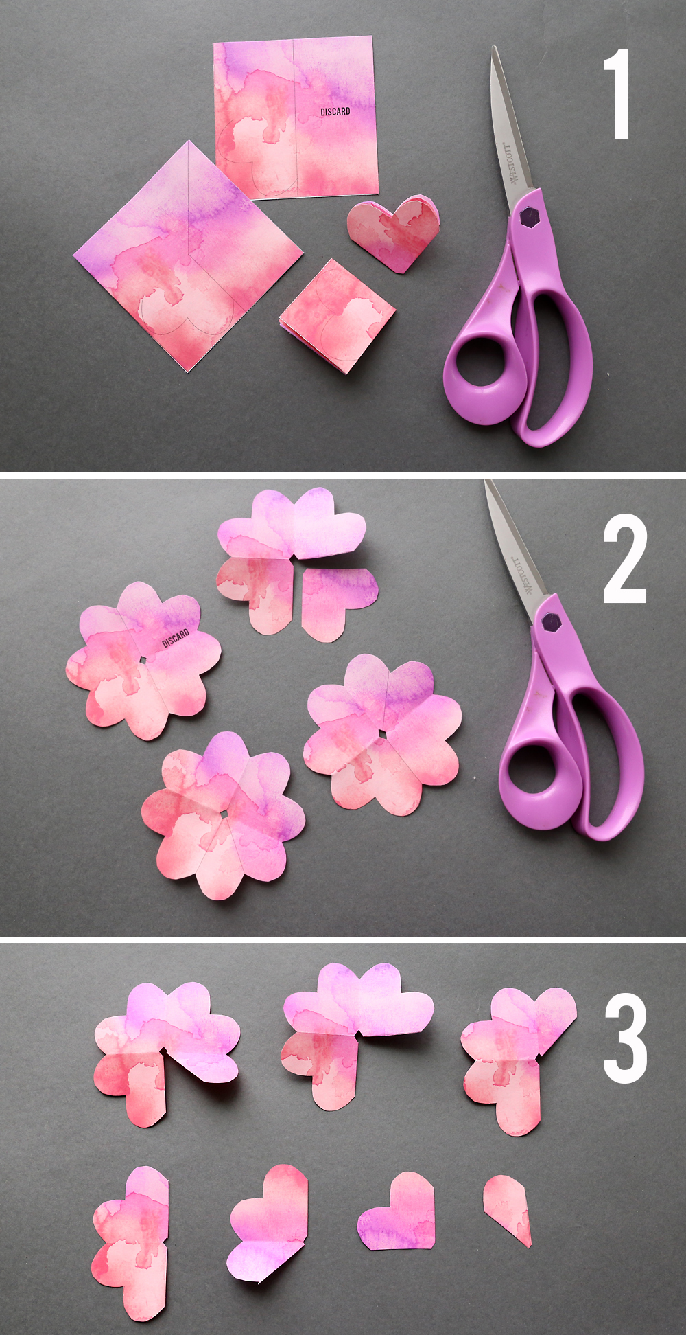 Learn how to make paper roses with these beautiful paper rose template. Step by step instructions included. How to make DIY paper flowers.
