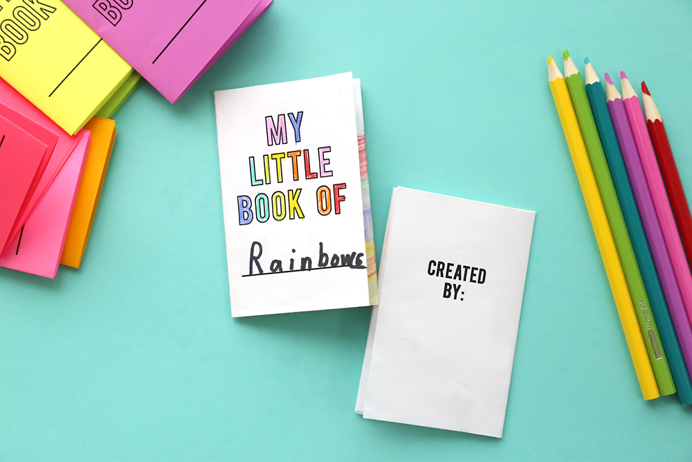 Little paper book